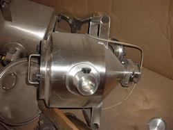 Image 5.8 Gallon Cone Blend Tank - Stainless Steel 1007422