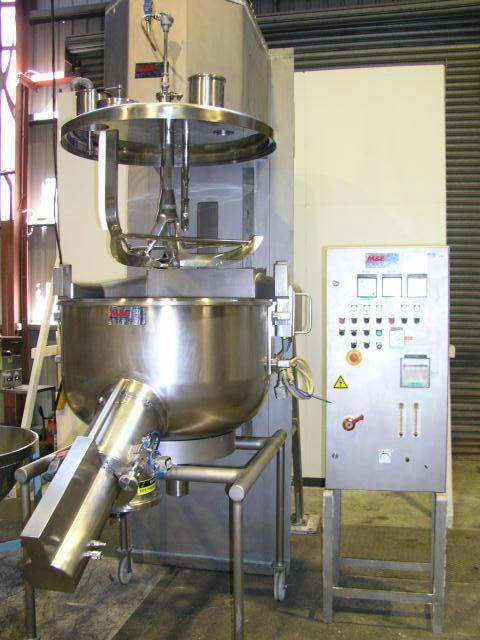 COLLETTE GRAL 400 High Shear Granulating Mixer
