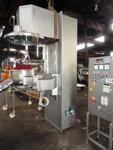 Image COLLETTE GRAL 400 High Shear Granulating Mixer 616818