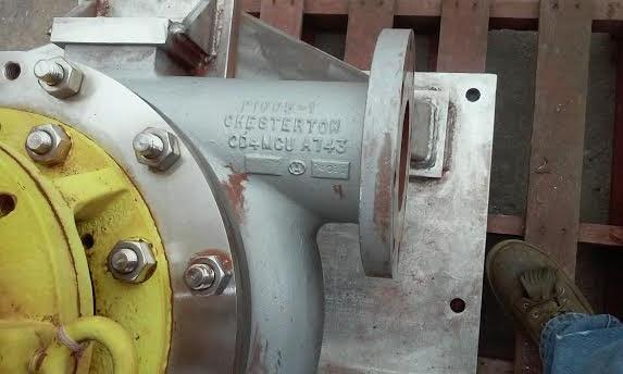 Image A.W. CHESTERTON Stainless Steel Centrifugal Pump 616976