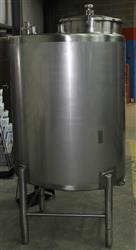 Image 200 Gallon BCAST STAINLESS PRODUCTS CIP Tank 617139