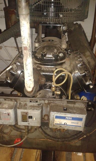 20 HP COPELAND 4RE2-200A-TSK-800 Compressor