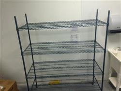 210654 - USDA Approved wire food storing racks