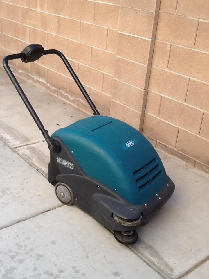 3610 Walk Behind Sweeper 210705 For Sale Used