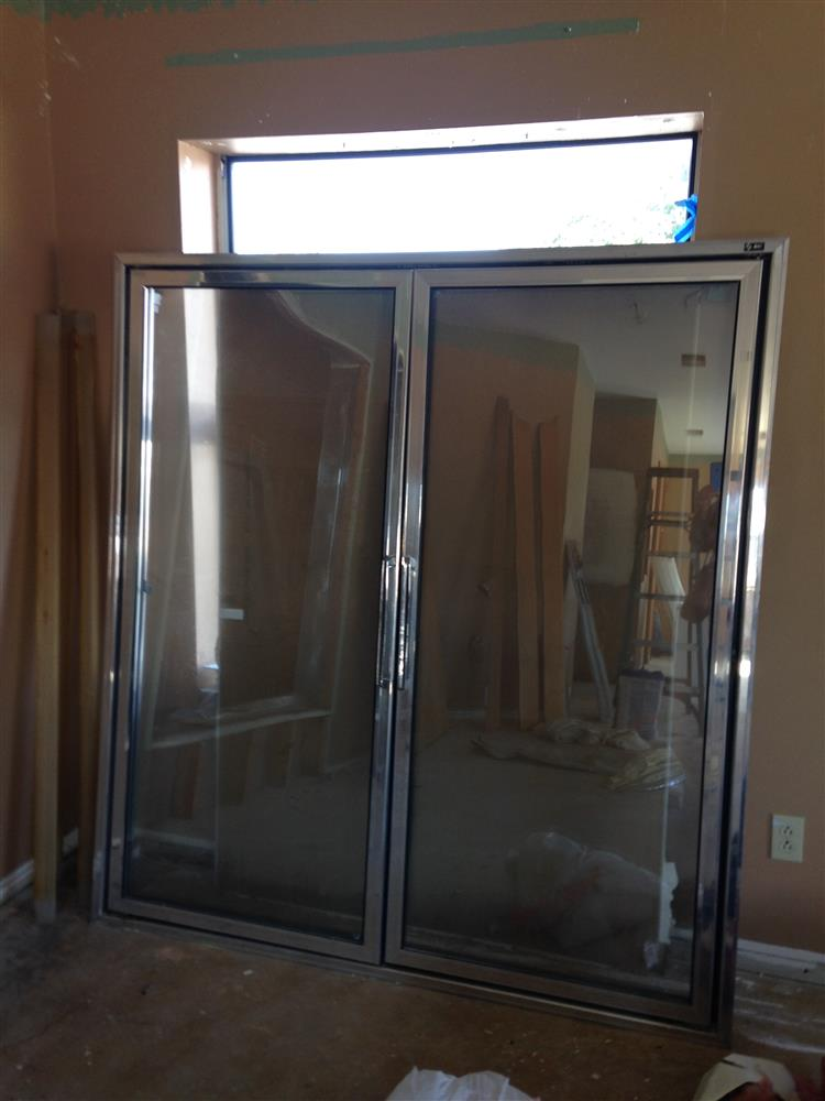MASTER-BILT Walk-in Insulated Refrigerator Door and Display Windows