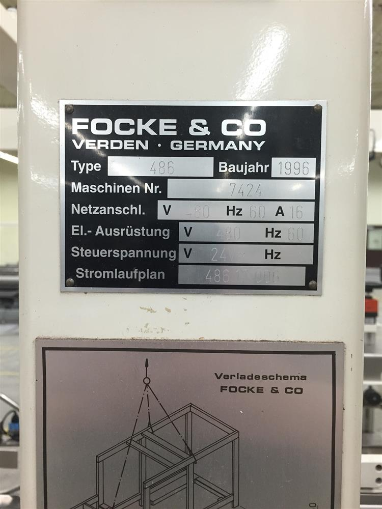 Image FOCKE AND COMPANY Case Packer  626693