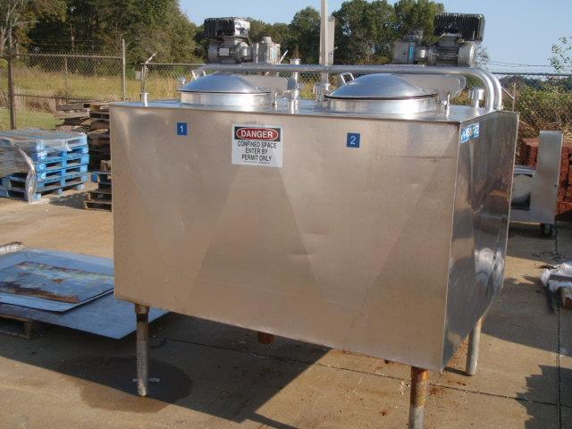 2- 200 Gallon GIRTON FV 2x200 Refrigerated Flavor Tank
