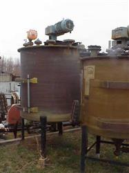 "Image 750 Gallon FIBRENETICS Fiberglass ""FRP"" Mix Tank 633424"
