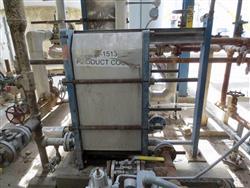 Image APV Stainless Steel Plat & Frame Heat Exchanger 634364