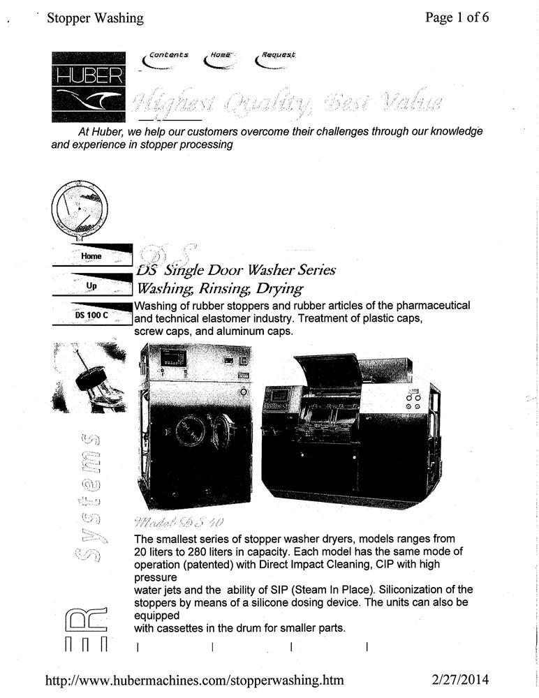 Image HUBER Stopper Washer 1481389