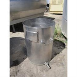 214428 -  40 Gallon Stainless Steel Tank