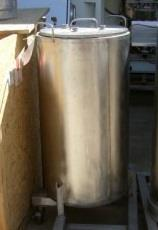 214429 -  40 Gallon Stainless Steel Tank