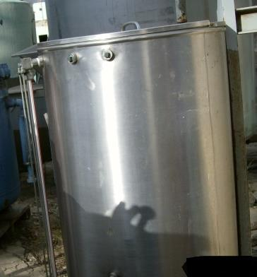 Image 50 Gallon Stainless Steel CIP Tank 869378