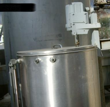 Image 50 Gallon Stainless Steel CIP Tank 869380