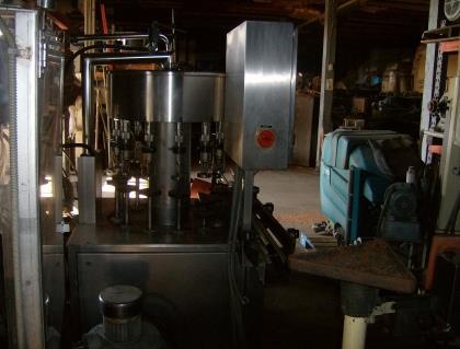 Image 12 Head / 60 BPM SEITZ Bottle Filling Line 711083