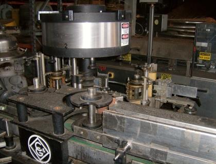Image 12 Head / 60 BPM SEITZ Bottle Filling Line 711085