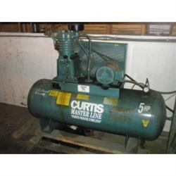 Image 5 HP CURTIS MASTER LINE Air Compressor 641763