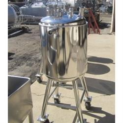 215013 -  20 Gallon POPE SCI 316L Stainless Steel Tank