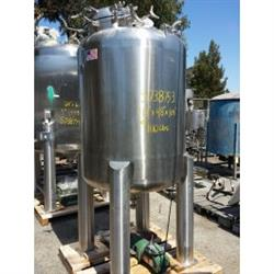 215016 - 250 Gallon 316L Stainless Steel Tank