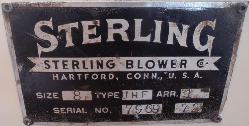 Image 10 HP STERLING UHF ARR1 Size 8 Blower 915213