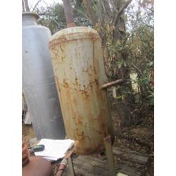 215147 - 100 Gallon Carbon Steel Tank