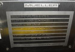 Image MUELLER Clean Steam Falling Film Evaporator 1056760