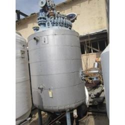 Image 500 Gallon DEDIETRICH Glass Lined Reactor 642769