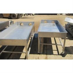 "215429 - 32""W x 71""L Tortilla Chip Receiving and Packing Table"