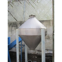 Image 100 Gallon Stainless Steel Double ConeTank 642914