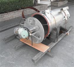 Image 125 Gallon Stainless Steel Tank 1024826