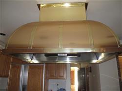 Image Custom Copper Range Hood 643303