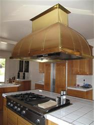 215802 - Custom Copper Range Hood