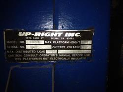 Image UP-RIGHT INC 62610 Man Lift 643417