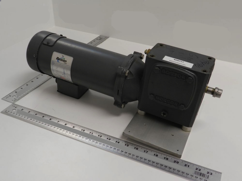 Boston Fincor Dc Motor With 215957 For Sale Used