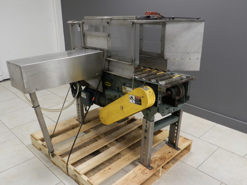 Motorised Roller Conveyor With Side Transfer
