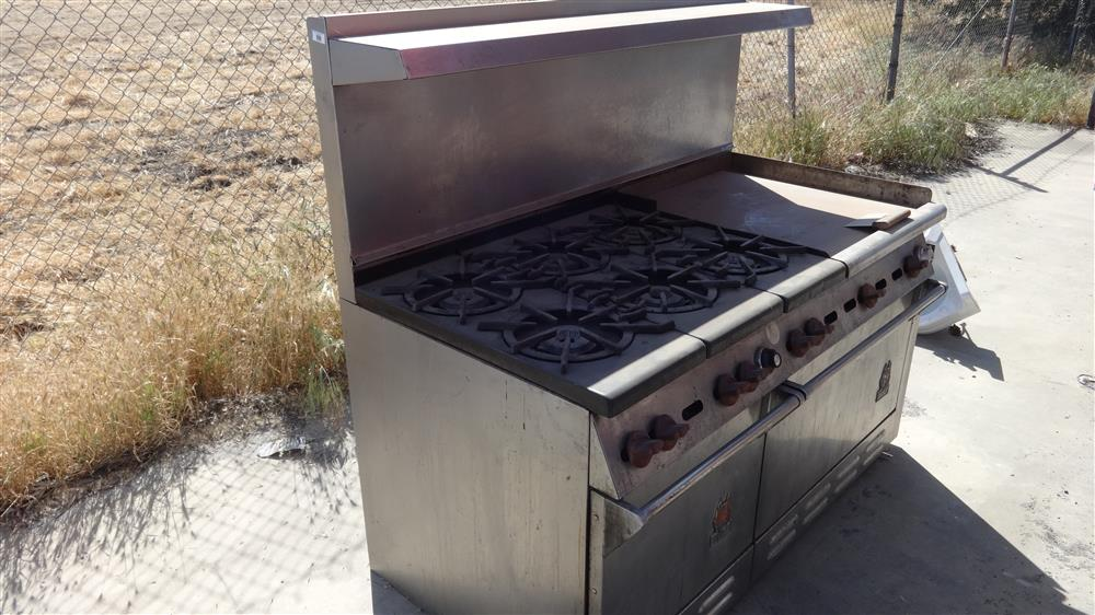 "WOLF 60"" 6 Burner with Griddle"