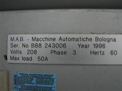 Image MAB B88 Automatic Horizontal Case Packer for Bottle Application 647334