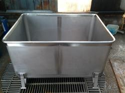 217052 - 820 lt Stainless Steel Container