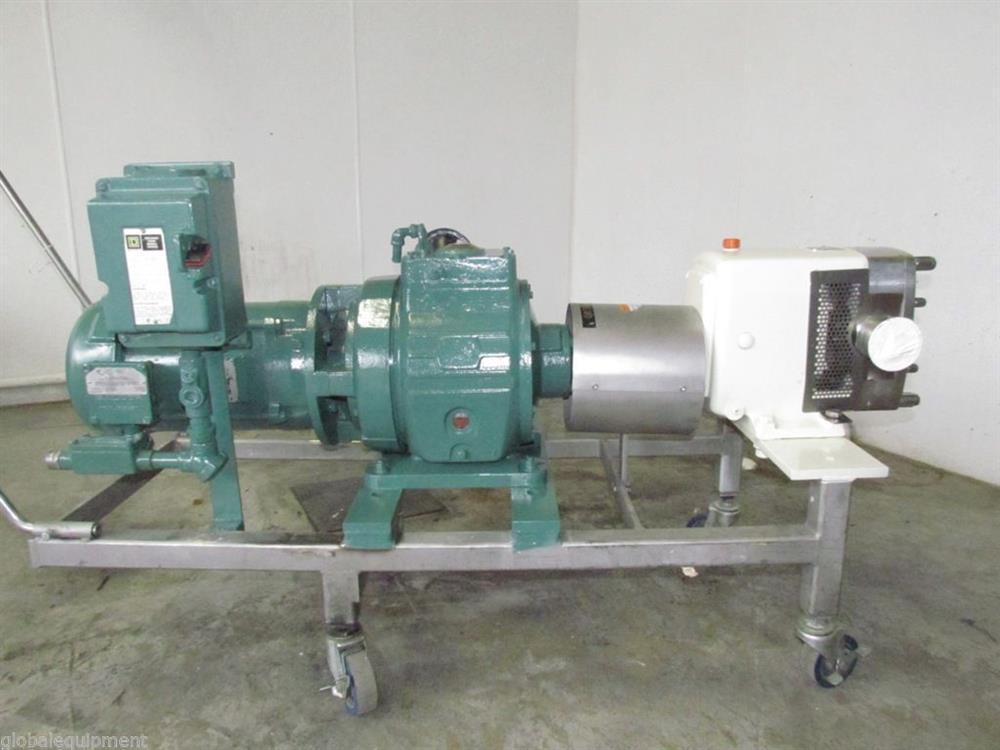 APV Model M-3H Sanitary Rotary Pump