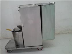 217293 - ROYCE ROLLS Stainless Steel Cleaning Carts