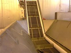 "217432 - 24"" x 16' L Stainless Steel Conveyor"