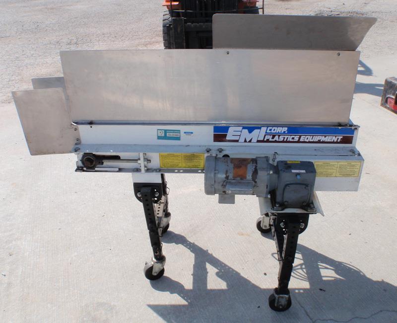 Image EMI PLASTICS EQUIPMENT RM 6 4 40 Flat Conveyor 650816