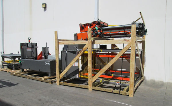 COLUMBIA LTS-006/PD/OC Pallet Load Transfer Station