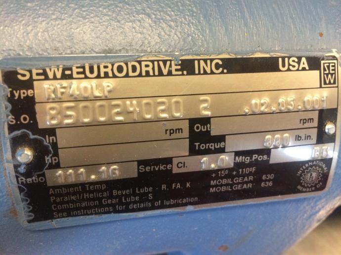 Image Rotary Air Lock Valve  651453