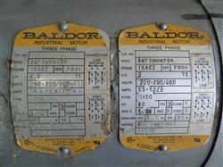 Image 5 HP BALDOR R6350A-2 3-Phase Motor 651650
