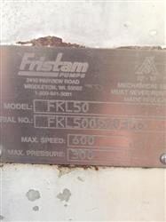 "Image 2.5"" FRISTAM FLK50 Rotary Lobe Pump 651704"