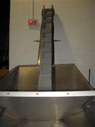 "218408 - 7""W x 9'L Stainless Steel Upper Conveyor"