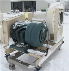 220766 - 100 HP Blower Fan and Motor Mounted on Base