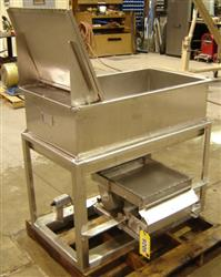 "220844 - 15"" W X 18"" Stainless  Steel Screener Feeder"