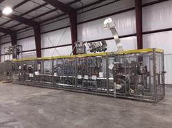 222750 - HARTNESS, STANDARD KNAPP, SWF, PRIORITY ONE Complete Distilled Spirits Packaging Line